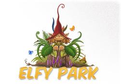 Logotype d'Elfy Park, parc de loisirs sur le thème féérique dans les Ardennes